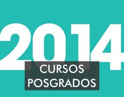 Calendario Cursos Posgrados 2014