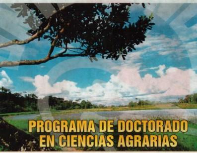 DOCTORADO EN CIENCIAS AGRARIAS