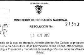 ACREDITACIÓN DE ALTA CALIDAD